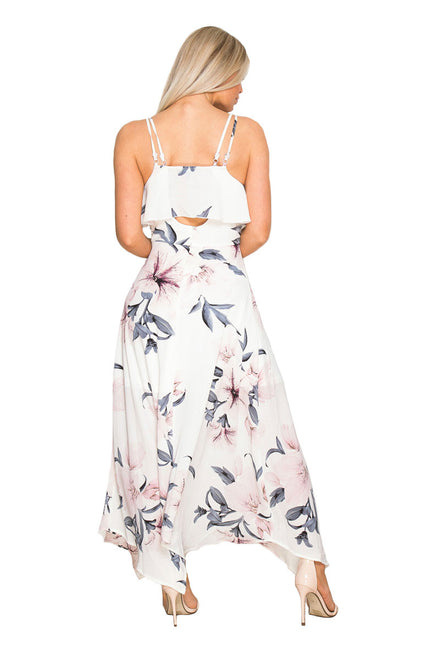 GIRL IN MIND EVIE FLORAL PRINT DRESS