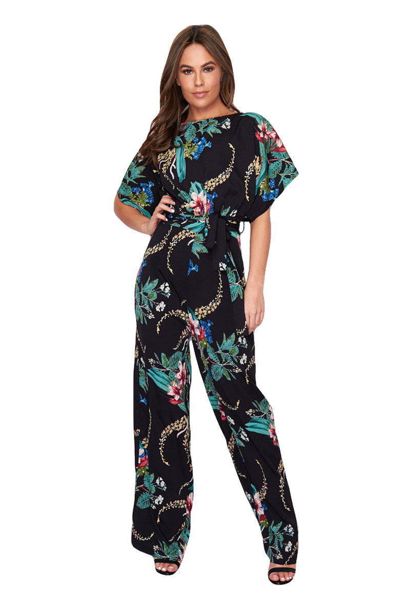 GIRL IN MIND JADE BATWING JUMPSUIT