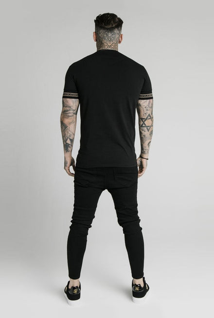 SIKSILK ELEMENT STRAIGHT GYM TSHIRT