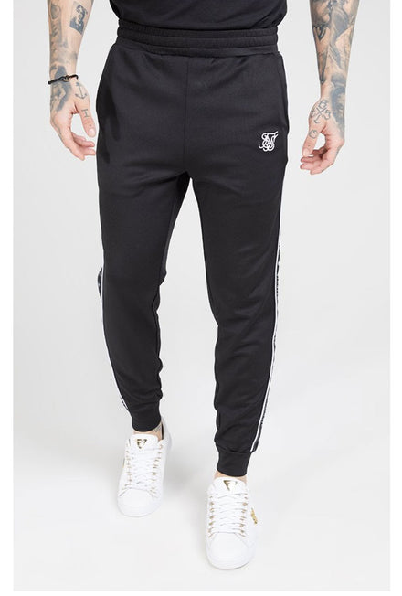 SIKSILK FITTED PANEL TAPE TRACK PANTS