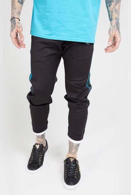 SIKSILK FITTED TAPE TRACK PANTS