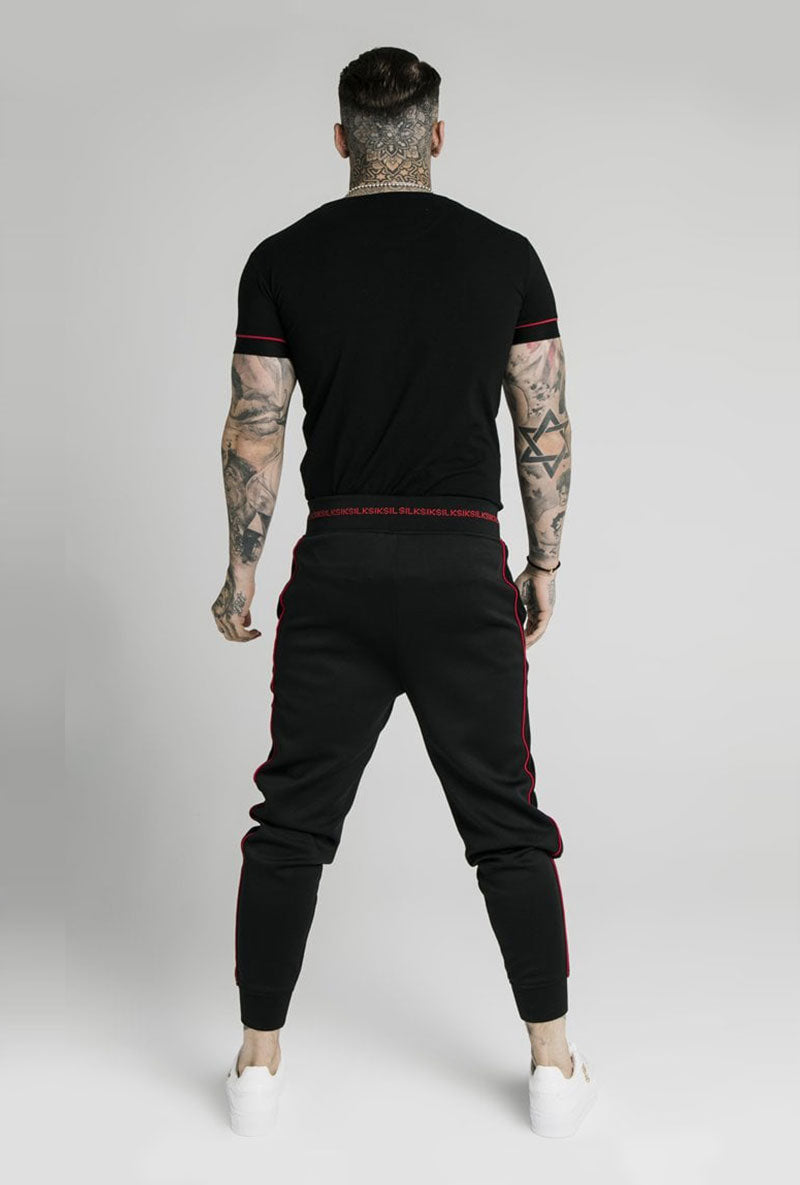 SIKSILK IMPERIAL STRAIGHT TECH TSHIRT