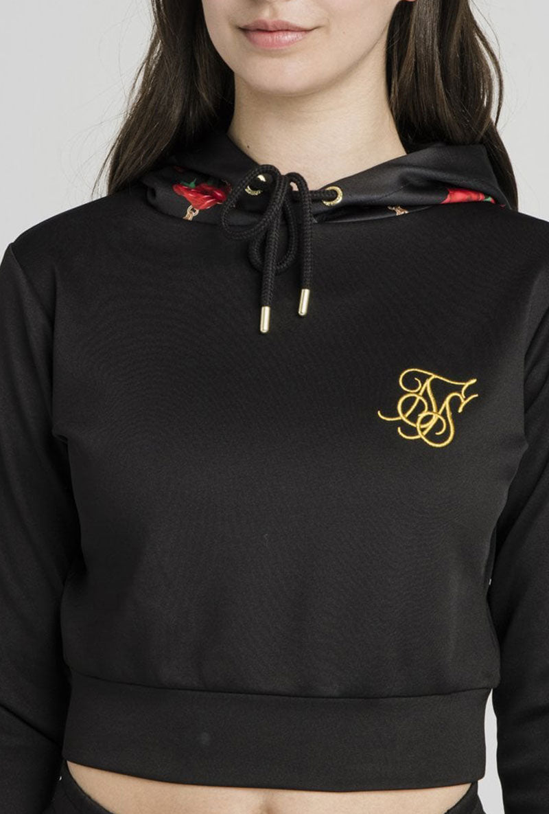 SIKSILK MAJESTIC CROPPED TRACK TOP