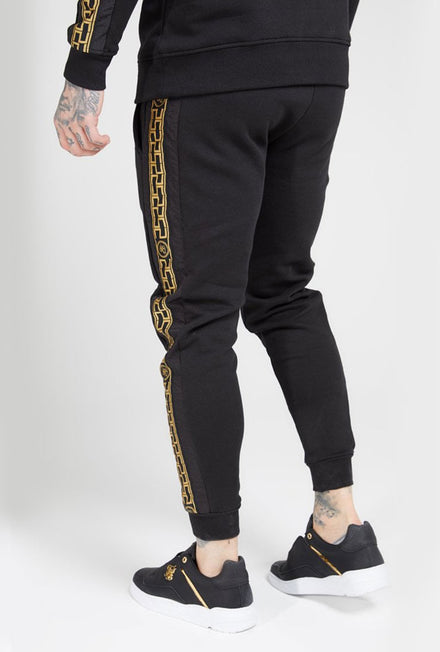 SIKSILK MUSCLE FIT NYLON PANEL JOGGERS