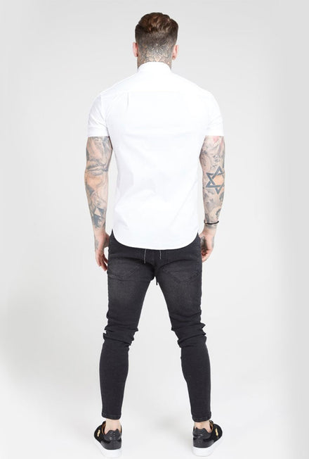 SIKSILK PIPED W TAPE SHIRT