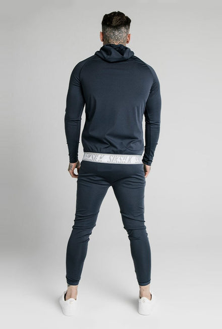 SIKSILK SCOPE TAPE ZIP HOODIE