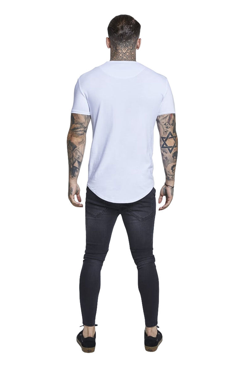 SIKSILK SHORT SLEEVE GYM TEE