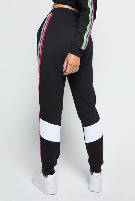 SIKSILK SPECTRUM FLEECE JOG PANTS