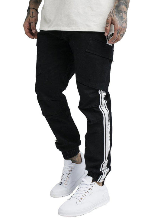 TAPED CARGO PANTS-London Clothing Company ®