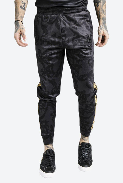 DANI ALVES CROPPED CUFFED JOGGERS-London Clothing Company ®