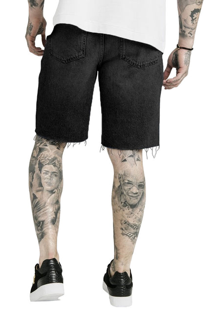 SIKSILK DANI ALVES LOOSE FIT DENIM SHORT
