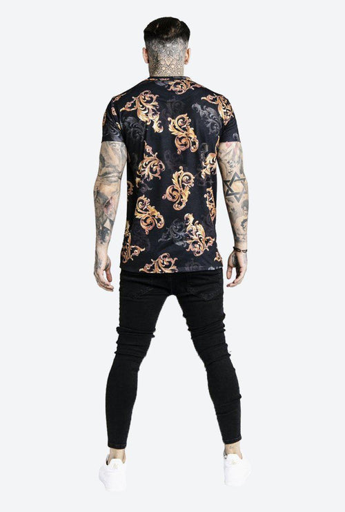 DANI ALVES X REVERSE COLLAR TEE-London Clothing Company ®