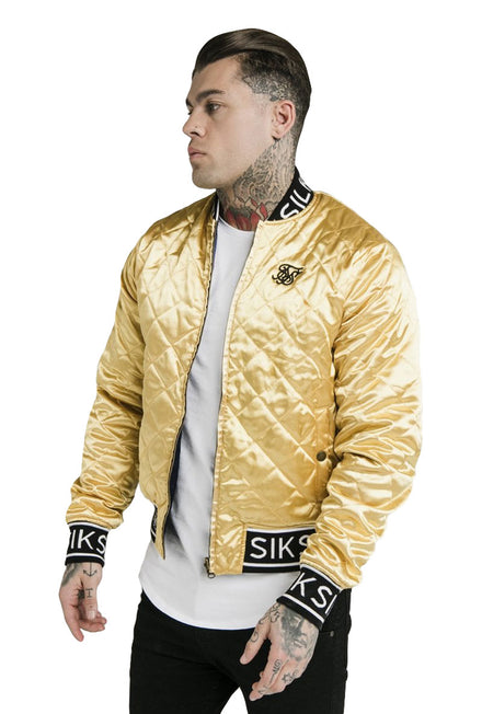 SIKSILK DANI ALVES REVERSIBLE BOMBER JACKET