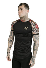 DANI ALVES RAGLAN CURVED HEM TECH TEE