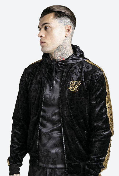 DANI ALVES VELOUR BOMBER JACKET-London Clothing Company ®