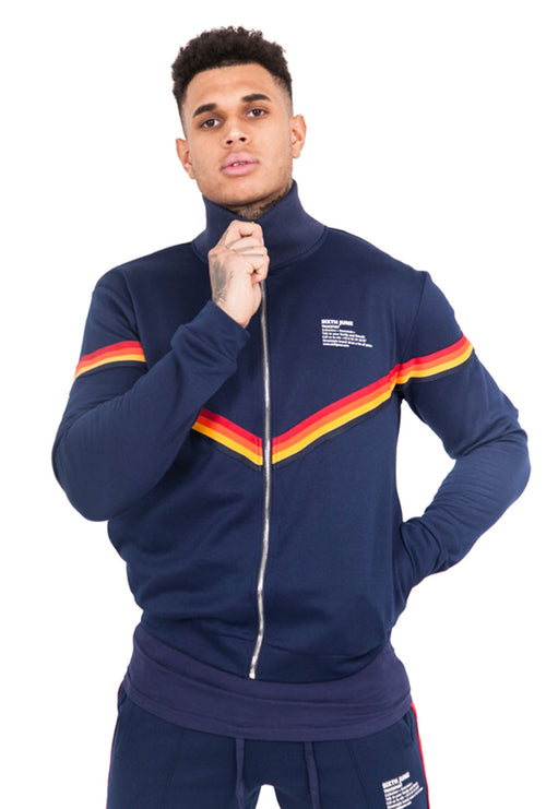 4 COLOUR TAPING JACKET-London Clothing Company ®