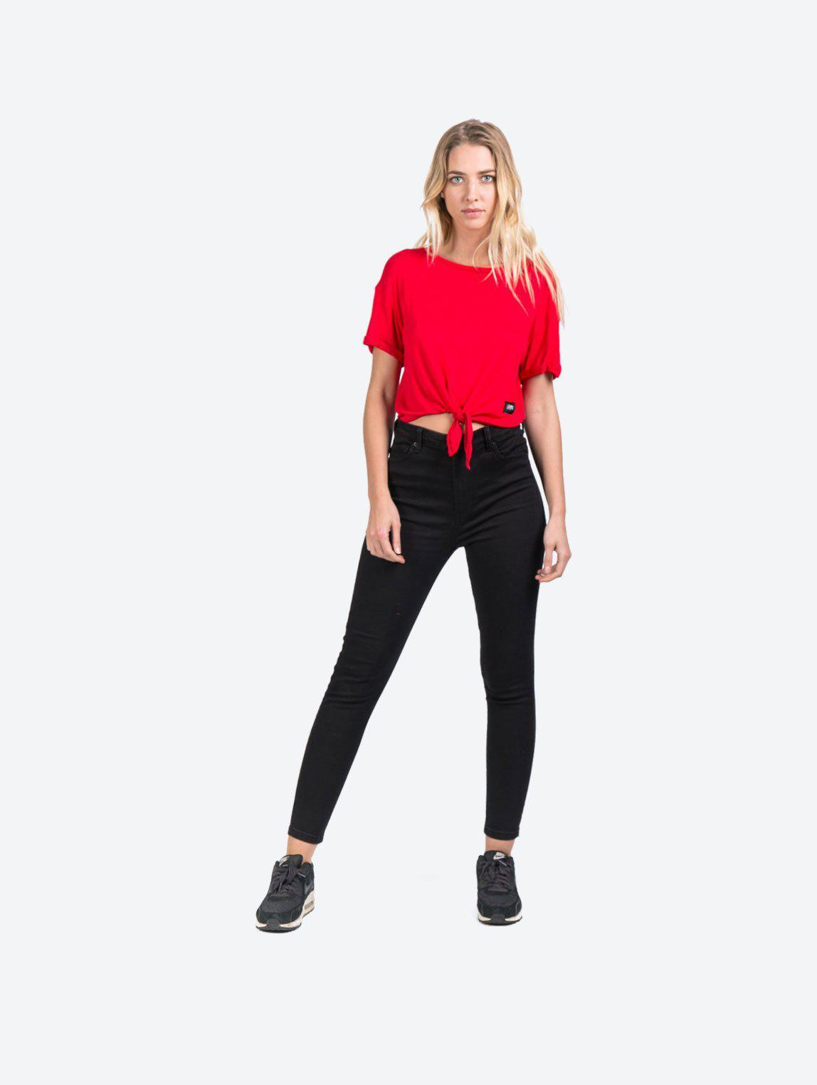 KNOT CROP TOP TSHIRT