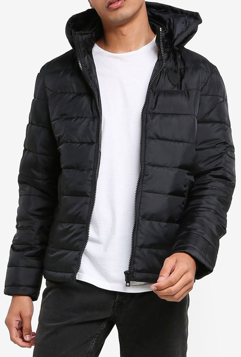 SOLID DAFFY BOMBER JACKET