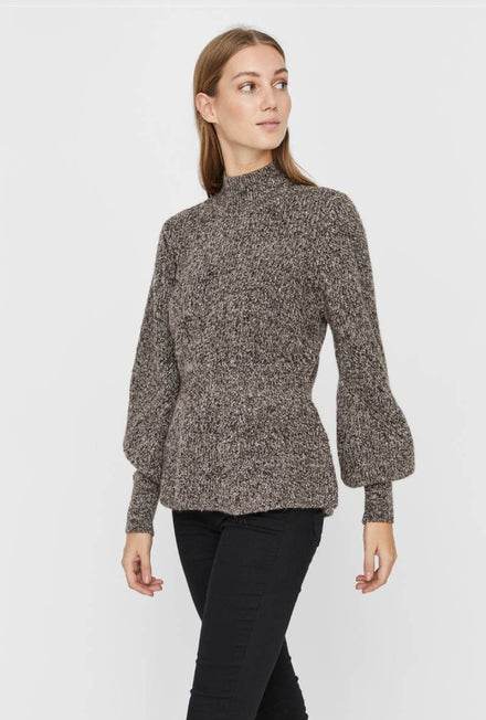 VERO MODA PEPPER HIGHNECK BLOUSE