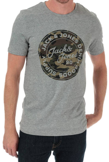 JACK AND JONES CAMOMAN ROUND TSHIRT