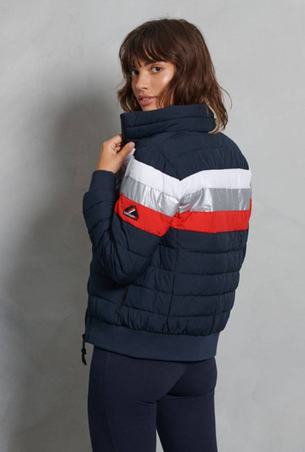 SUPERDRY COLOURBLOCK FUJI BOMBER