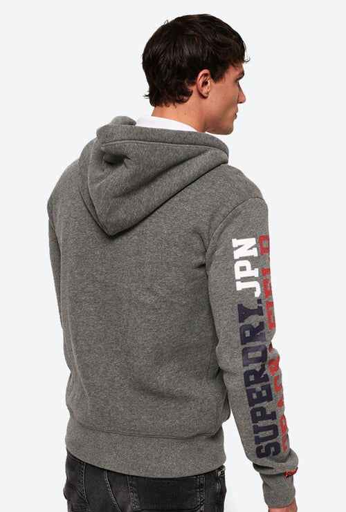 TRACK AND FIELD ZIPHOOD-London Clothing Company ®