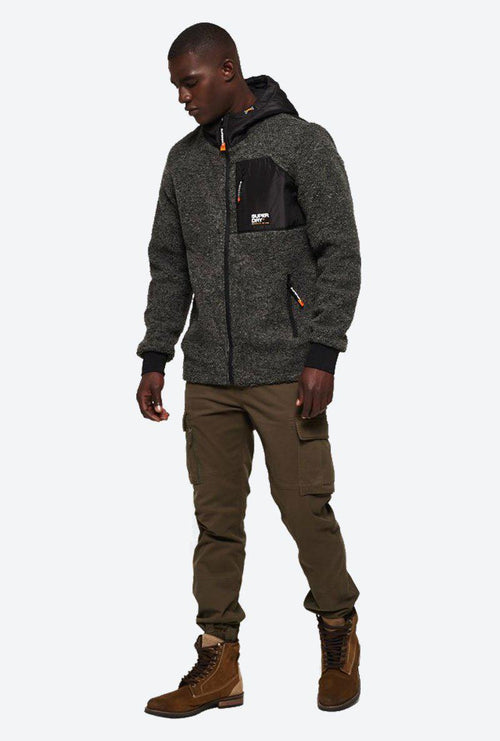 MOUTAIN SHERPA ZIPHOOD-London Clothing Company ®