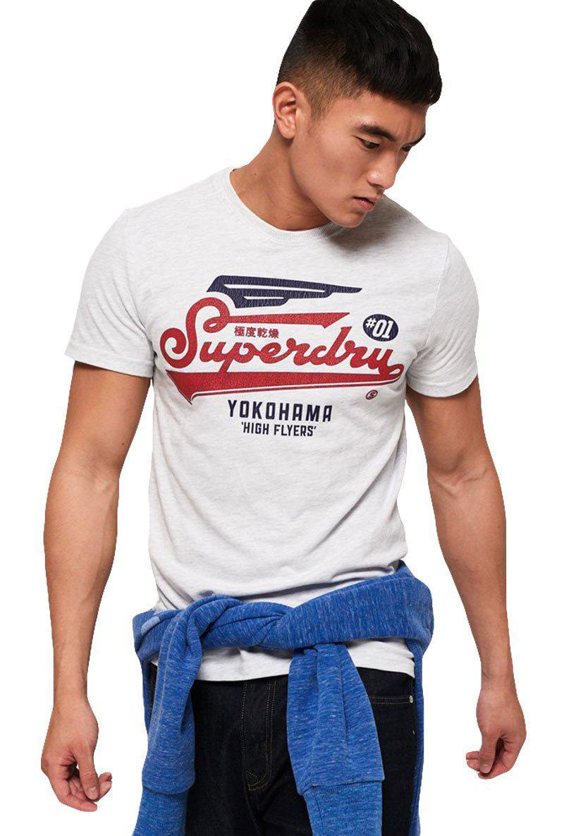 SUPERDRY HIGH FLYERS MID WEIGHT TEE