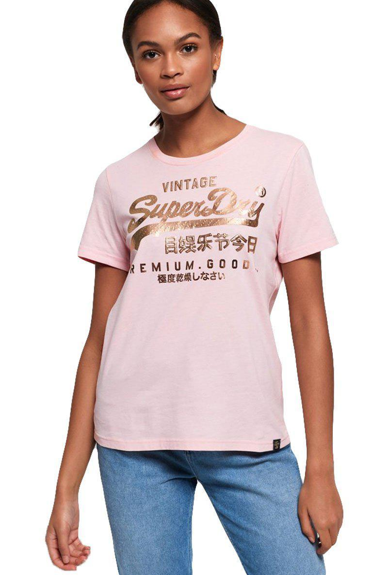 SUPERDRY PUFF FOIL INFILL TEE