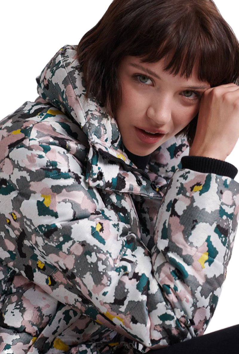 SUPERDRY JACQUARD PUFFER