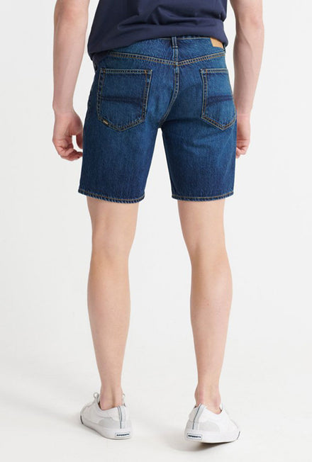 SUPERDRY TAPER DENIM SHORTS