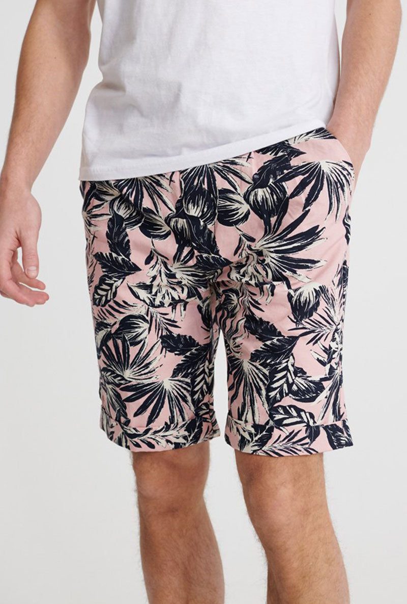 SUPERDRY EDIT PLEAT CHINO SHORTS