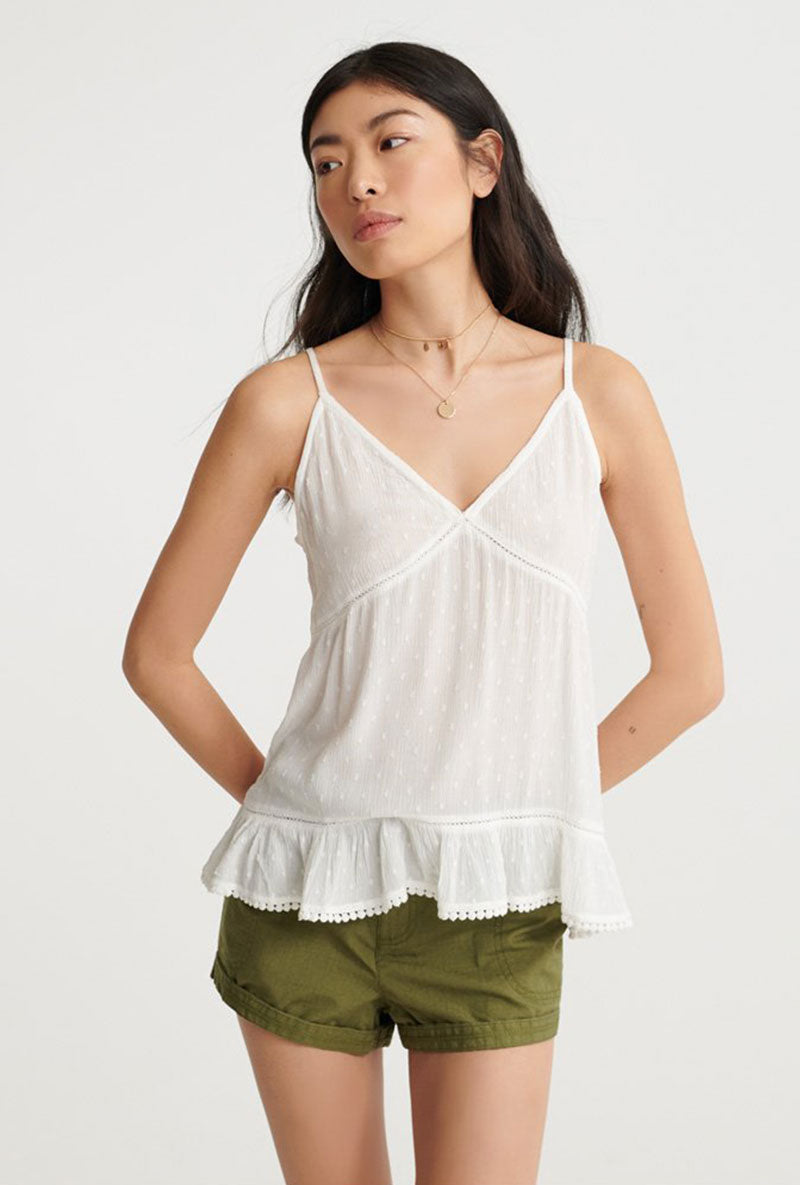 SUMMER LACE CAMI TOP