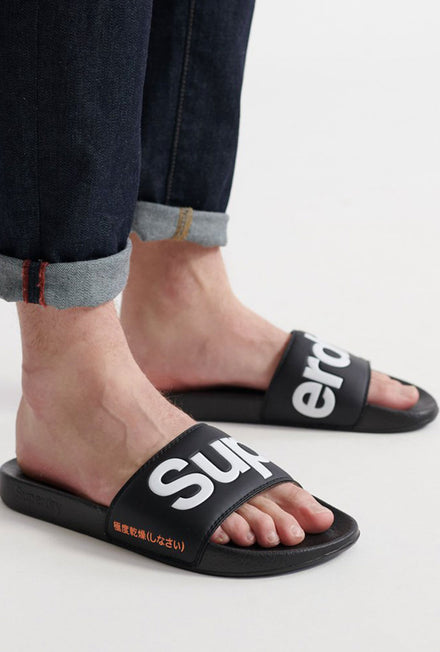 SUPERDRY MENS POOL SLIDE