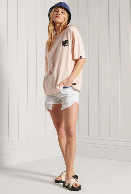 SUPERDRY MILITARY FREEDOM BOXY TSHIRT
