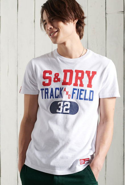 SUPERDRY TRACK AND FIELD III TSHIRT
