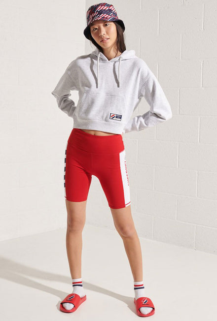 SUPERDRY SPORTSYLE GRAPHIC BOXY HOOD
