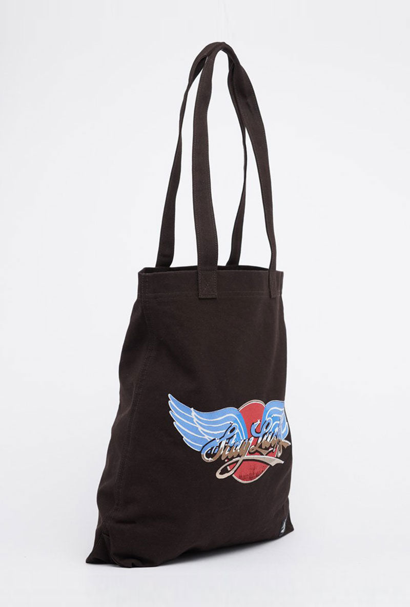 SUPERDRY CANVAS GRAPHIC TOTE