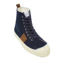 STAR HIKE in Navy Stripe Wool