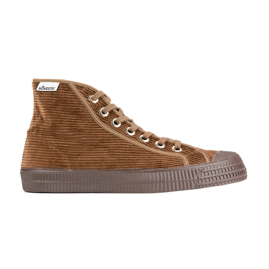 STAR DRIBBLE CORDUROY MONO BROWN