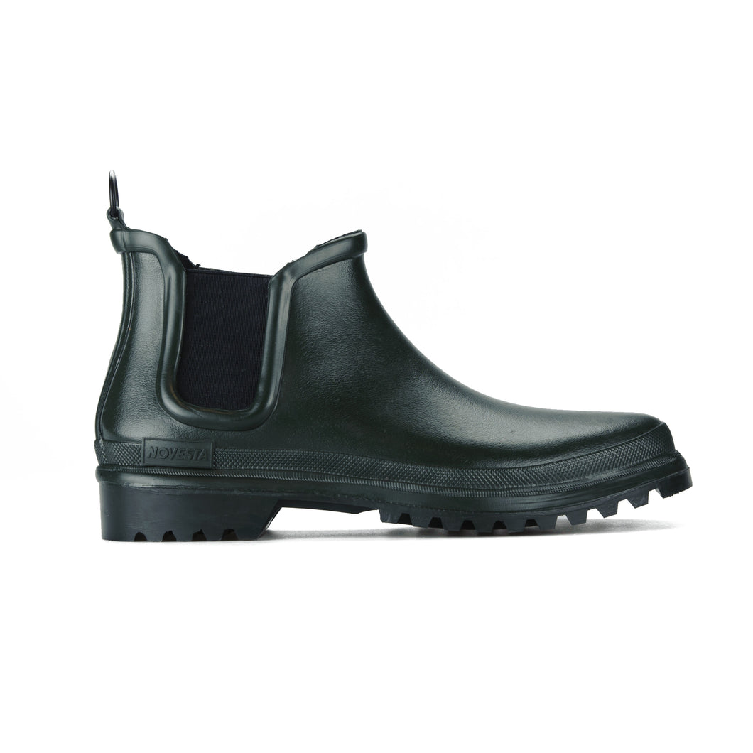 RUBBER BOOT DARK GREEN