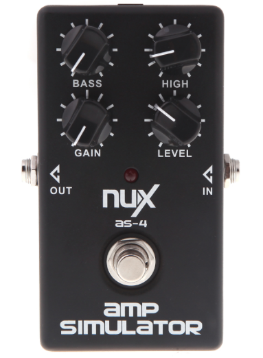 NUX AS-4 AMP Simulator Effects Pedal - The Guitar Yard