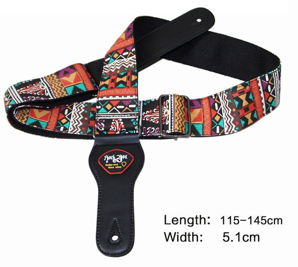 Embroidery Guitar Strap - The Guitar Yard