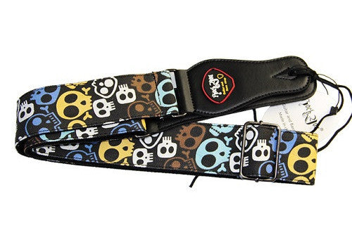 Multi-color Guitar Strap (Various Designs) - The Guitar Yard