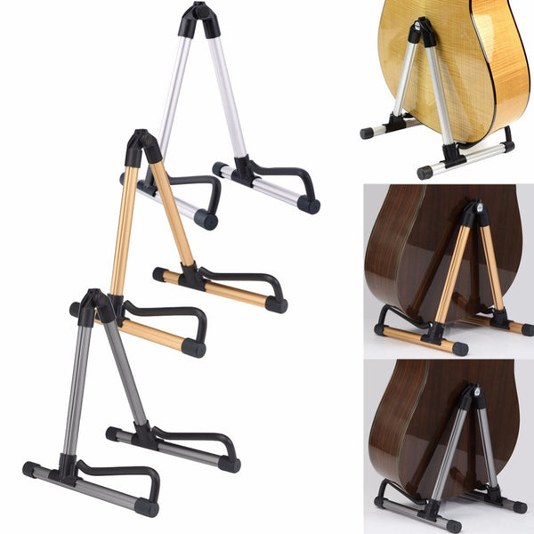 Universal A-Frame Foldable Guitar Stand - The Guitar Yard