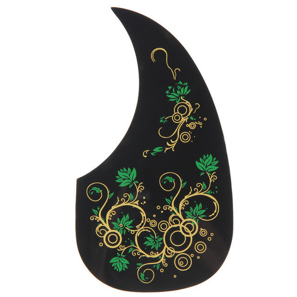 Multi-color Flora Acoustic Guitar Pickguard - The Guitar Yard