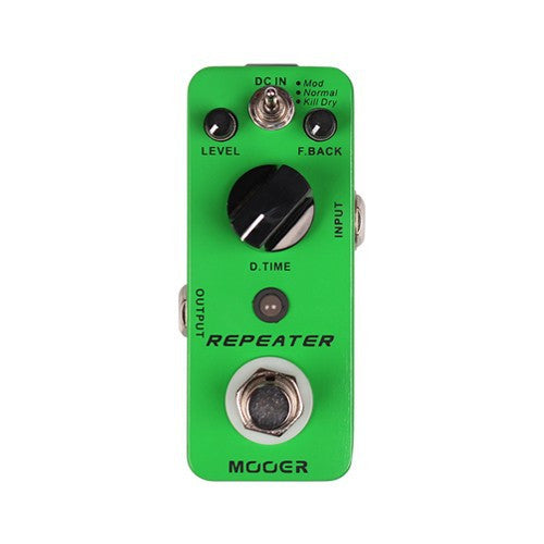 Mooer Repeater Guitar Effects Pedal - The Guitar Yard