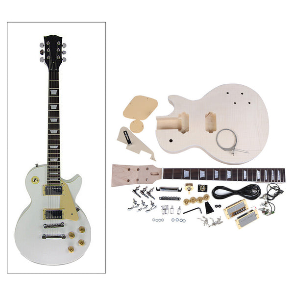 DIY Electric Guitar Kit Set (LP style) - The Guitar Yard