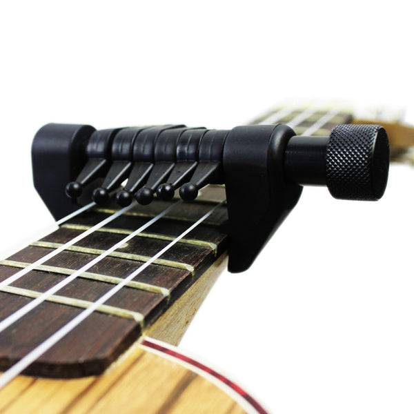 Alternative Tuning Partial Guitar Capo for Acoustic and Electric Guitars - The Guitar Yard