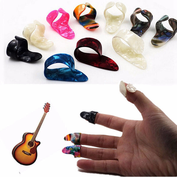 Guitar Finger + Thumb Picks (4pcs) - The Guitar Yard